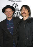 Loppa och Anthony Kiedis royaltyfri bild