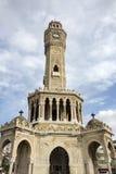 Loppbegreppsfoto; Turkiet/Izmir/Konak/historiskt gammalt klockatorn/Konak fyrkant royaltyfri foto