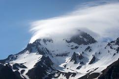 Loppbegreppsfoto; Turkiet Kayseri Erciyes berg arkivfoto