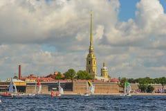 Loppet för den europeiska seglingen kämpar för ligan från 11 till 13 Royaltyfria Foton