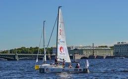 Loppet för den europeiska seglingen kämpar för ligan från 11 till 13 Arkivfoto