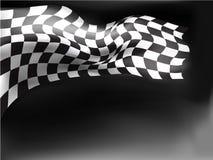 Loppflaggabakgrund Royaltyfri Fotografi