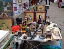 Loppmarknad Royaltyfria Bilder