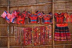 Loppmarknad i Indien Arkivfoto