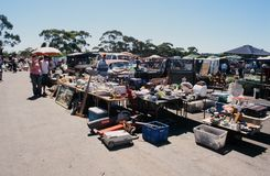 Loppmarknad i södra Australien Royaltyfria Foton