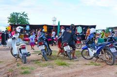 Loppmarknad i Thailand Royaltyfri Foto