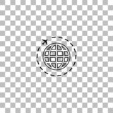 Loppsymbolsl?genhet vektor illustrationer
