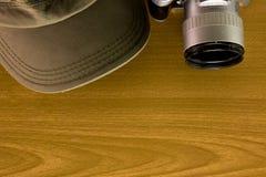 Lopptillbehören inkluderar den ingen tangenten för locket för den fick- kameran för pengar Arkivfoton