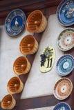 Loppvinrutt i Frankrike Vins för Laruttdes Arkivbilder