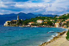 Lopud Beach and Port Stock Photography