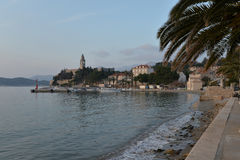 Lopud island, Dubrovnik, Croatia. Old village Royalty Free Stock Photography