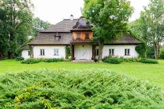 Lopuszna, Polen - 11. August 2016; Tetmajer-Familienvilla in Lopuszna, Polen Stockbild