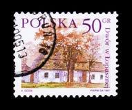 Lopuszna, serie polacco delle proprietà del paese, circa 1997 Immagine Stock Libera da Diritti
