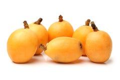 Loquat fruit Stock Photography