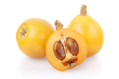 Loquat fruits Stock Images
