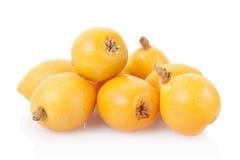 Loquat fruits stock photography