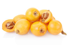 Loquat group royalty free stock image