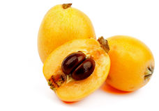 Loquat Medlar Fruit Royalty Free Stock Images