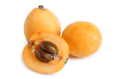 Loquat medlar Stock Photography