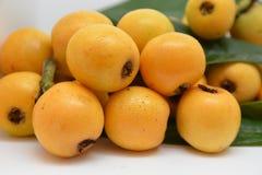 Loquat vers fruit stock fotografie
