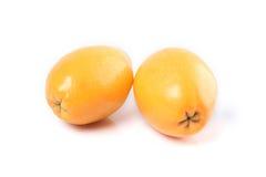 Loquatfrucht Lizenzfreie Stockfotos