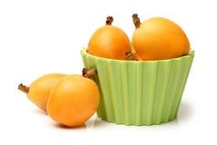 Loquatfrukt Arkivbilder
