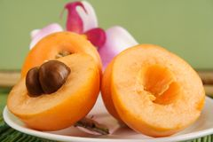 Loquats Stock Photo