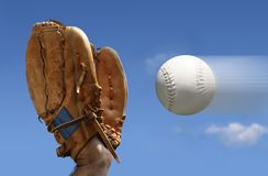 Loquet de base-ball Image libre de droits