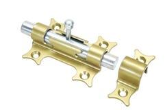 Loquet en métal pour la trappe Image stock