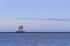 Lorain lighthouse Royalty Free Stock Photos