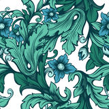 Loral Seamless Pattern Royalty Free Stock Images