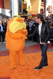 The Lorax, Zac Efron. Lorax and Zac Efron  at the Dr. Seuss' The Lorax Premiere, Universal Studios, Universal City, CA 02-19-12 Royalty Free Stock Photo