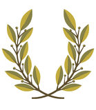Lorbeer Wreath lizenzfreie abbildung