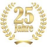 Lorbeerkranz für Jubiläum Lizenzfreie Stockfotos