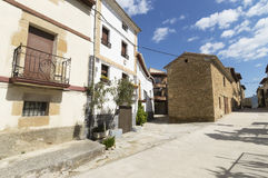 Lorca city, road to Santiago de Compostela, Navarre Royalty Free Stock Images