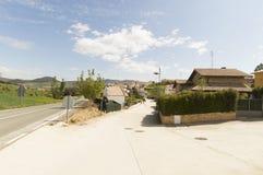 Lorca city, road to Santiago de Compostela, Navarre Stock Photos