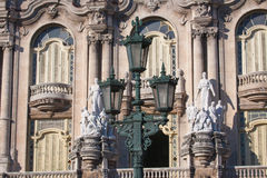 Lorca Theater-Gebäudefassade in Havana, Kuba Stockfotos