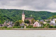 Lorch am Rhein, Германия Стоковые Изображения RF
