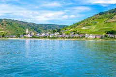 Lorch am Rhein, a small town in the Rheingau-Taunus-Kreis in Ger Royalty Free Stock Photo