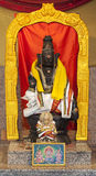 Lord Ayyappa in Hindoese Tempel Stock Foto