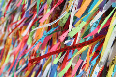 Lord of Bonfim Souvenirs Ribbons Stock Photography