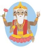Lord Brahma flute Stock Photos