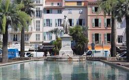 Lord Brougham Cannes Royaltyfri Fotografi