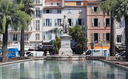 Lord Brougham Cannes Royalty Free Stock Photography