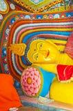 Lord Buddha étendu Image libre de droits