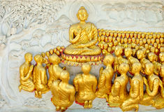 Lord of buddha Stock Images
