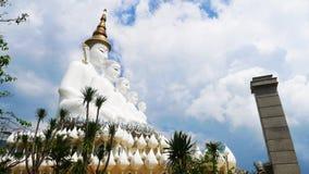 5 Lord Buddha Imagenes de archivo
