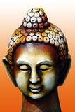 Lord Buddha. Is famous in China, Tibet, Japan coutries. buddhism is religion. Handmade clay model of Buddha is very beautiful Royalty Free Stock Images