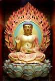 The Lord Buddha in Chinese Buddha Tooth Relic Temple Stock Photos