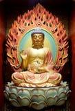Lord Buddha in cinese il tempio della reliquia del dente di Buddha Fotografie Stock